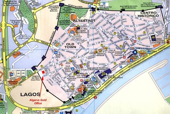 Lagos Island Road Map